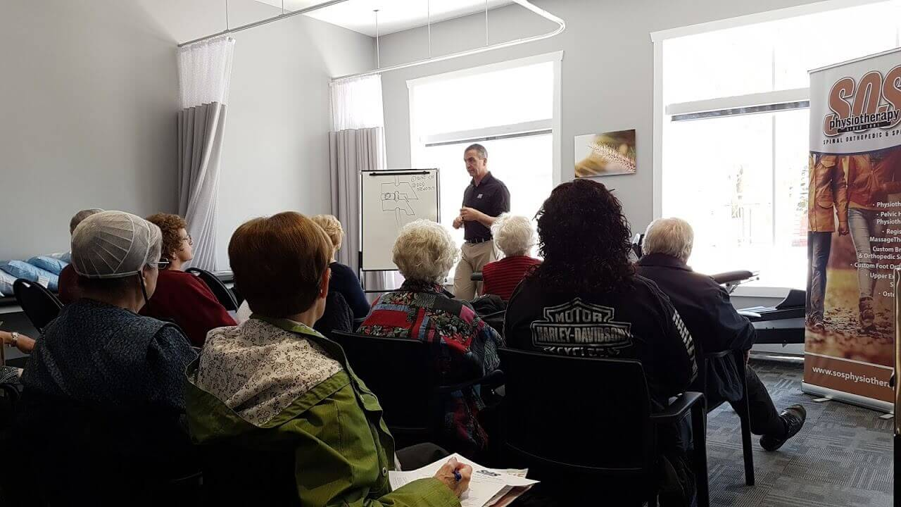 Elmiraworkshop1 Back Pain & Sciatica Workshop a SUCCESS!