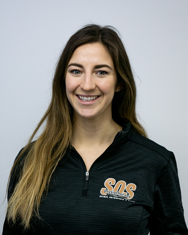 Jessica Clancey, Physiotherapist, SOS Physiotherapy
